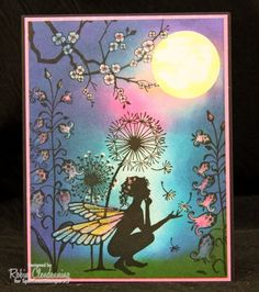 Good Thought by Robin Clendenning #fairies #Lavinia #cards