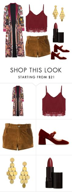 """""""Concert Outfit"""" by bootycapo ❤ liked on Polyvore featuring Etro, Au Jour Le Jour, Prada, Stephanie Kantis and Serge Lutens"""