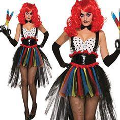 crazy harley kost m fasching halloween clown karneval. Black Bedroom Furniture Sets. Home Design Ideas