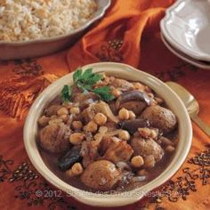 Arabic Food Recipes: Eggplant and Kibbeh Stew Recipe