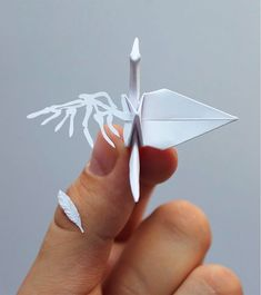 Working on his self-initiated project for almost 3 years, origami enthusiast Cristian Marianciuc challenged himself to create a new decorative paper crane every day for 1,000 days. You can check out the full gallery on Instagram. More paper art via Colossal