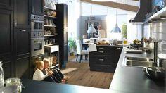 Une cuisine pour une grande famille (Ikea)