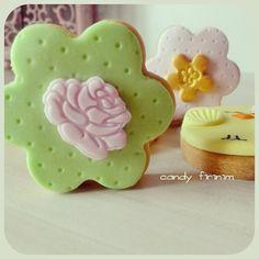 Bahar temalı kurabiyeler