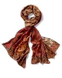 Red Leopard Scarf to Benefit @standuptocancer. For each scarf purchased, $10 will be donated to SU2C. This is your chance to take a stand against cancer.