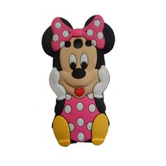 Pink 3D Cute Cartoon Mouse Silicone Case for Samsung Galaxy S3 III i9300