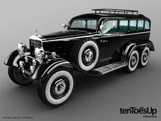 1934 Mercedes-Benz G4.