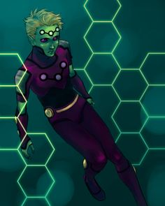 commission - Brainiac 5 by bluestraggler.deviantart.com on @deviantART