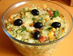Retete Rina's 90, Retete de peste tot adunate: Salata de boeuf ( falsa ) Rina Diet, Romanian Food, Romanian Recipes, Fruit Salad, Diet Recipes, Oatmeal, Healthy Eating, Cooking, Breakfast