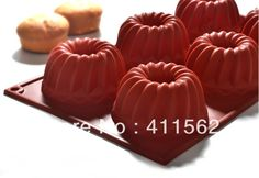 DIY 6 cell kugelhopf silicone chocolate mould/ice /butter tray mold/candy mold/cake decoration/promotinal gift,WH31-in Cake Pans from Home  Garden on Aliexpress.com $5.25