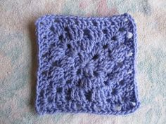 SmoothFox's Another Variation of a Granny Square ~ free pattern ᛡ