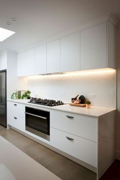 76 cool white kitchen cabinet design ideas
