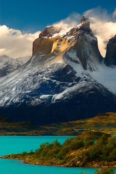 Torres del Paine, Patagonia, Chile, I have never been to Chili but planning a trip, my best friend has been all over the world and Chili was her favorite place, EVER!
