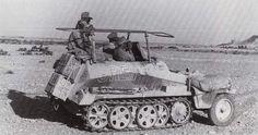 Rommel's SdKfz.250/3
