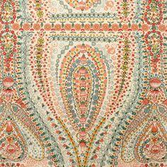Alexander Henry House Designer - Somerville - Pindar Paisley in Sienna. Love this fabric!
