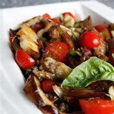 Eggplant Tomato Salad Recipe