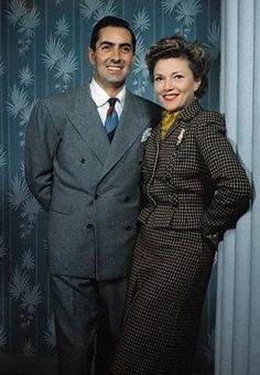 Ty and Annabella (early 1940's)
