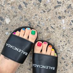 18 nail art ideas to use every nail polish in your collection . - 18 Nail Art Ideas With Which You Want To Use Any Nail Polish In Your Collection – Cece Miles – - Uv Gel Nagellack, Nagellack Trends, Nail Stiletto, Hair And Nails, My Nails, Nail Polish, Feet Nails, Dipped Nails, Toe Nail Designs