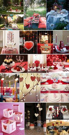 decoracao para um jantar romantico