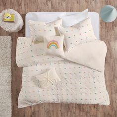 Callie Shabby Chic 100% Cotton Jacquard 5Pcs Duvet Cover Set – English Elm Teen Bedding, Twin Comforter, Bedding Sets, Toddler Bed Comforter, Crib Bedding, Cotton Duvet, Urban, Queen, Girl Room