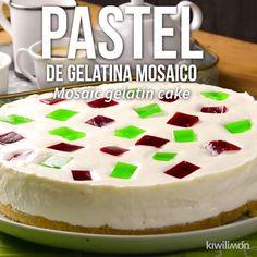 Gelatin Recipes, Jello Recipes, Mexican Food Recipes, Cake Recipes, Dessert Recipes, Köstliche Desserts, Delicious Desserts, Yummy Food, Food Cakes