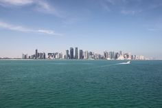 1000 Places of Interest: Skyline von Doha (Qatar) - http://youhavebeenupgraded.boardingarea.com/2016/02/1000-places-of-interest-skyline-von-doha-qatar/