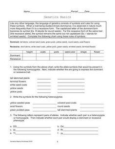Zork Genetics Punnett Square Practice From Classroom 214