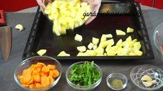 Cotlete de miel la cuptor/Baked lamb chops