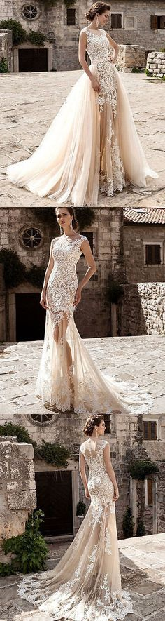 Wedding Dresses: White Ivory Wedding Dress Bridal Gown Custom Size 4 6 8 10 12 14 16 18 BUY IT NOW ONLY: $129.99
