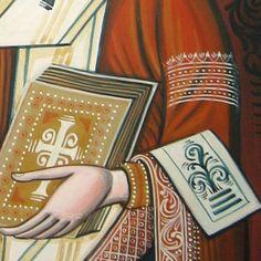 Saint Nicholas. Byzantine icon handmade painted. Only on   Etsy