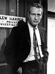 Paul Newman as Lew Harper, private investigator (Harper, 1966).
