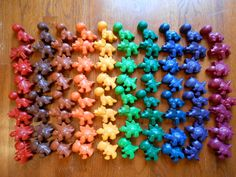 MAX'S WAX Dinosaur Crayons - 55 count party favors via Etsy Dinosaur Party Favors, Dinosaur Birthday Party, 4th Birthday Parties, 3rd Birthday, Crayola, Second Birthday Ideas, T Rex, Just In Case, First Birthdays
