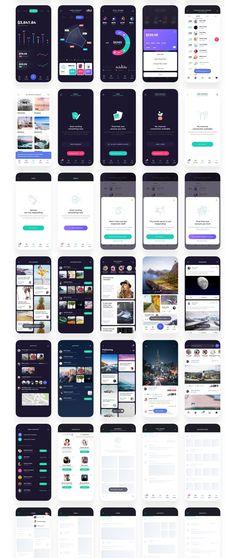 Atro Mobile UI Kit — UI Kits on can find Flat ui and more on our website.Atro Mobile UI Kit — UI Kits on Design Android, Android Ui, App Ui Design, Wireframe Mobile, Dashboard Mobile, Mobile App, Dashboard Ui, Interface Web, User Interface Design