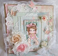 I just love creating Magnolia Tilda Cards and using Lavish Laces goodies makes it that much more fun!!! https://www.youtube.com/watch?v=yZNhEmfflt0