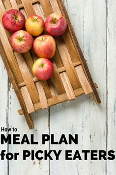 Do you struggle daily at meals with your picky eaters? These simple how to tips to meal plan for picky eaters will bring back your sanity as well as expand your weekly menu.