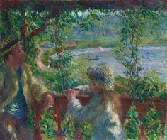 Pierre-Auguste Renoir  French, 1841-1919, Near the Lake