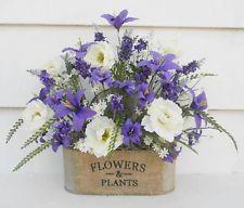Silk Flower Arrangement, Spring Flowers