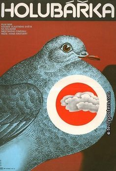 Work of Czech artist and designer Karel Vaca (1919-1989).  Origin of film: Germany   Year of poster origin: 1983   Director: Hans Kratzert