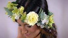 A personal favorite from my Etsy shop https://www.etsy.com/ca/listing/264436398/bridal-floral-crownflower-crown-rose