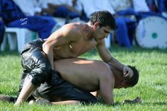 No, seriously, it's the national sport of Turkey.