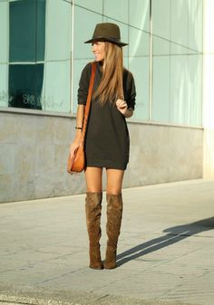 Long Suede Boots - Lola Mansil Fashion Diary
