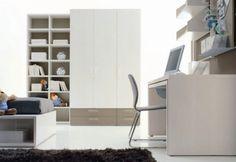 White Cool Kids bedroom