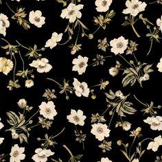 POPPIUM Wallpaper Ebony