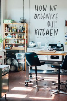 How We Keep Our Kitchen Super Organized — Chickpea Magazine