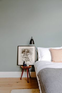The characterful East London townhouse of Melissa Hemsley and her art curator boyfriend Victorian House Interiors, Victorian Townhouse, London Townhouse, Victorian Homes, Bedroom Wall Colors, Bedroom Decor, Bedroom Ideas, Bedroom Inspo, Master Bedroom