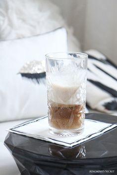 Weekend at home. Latte with cinnamon. - Adalmina's Secret