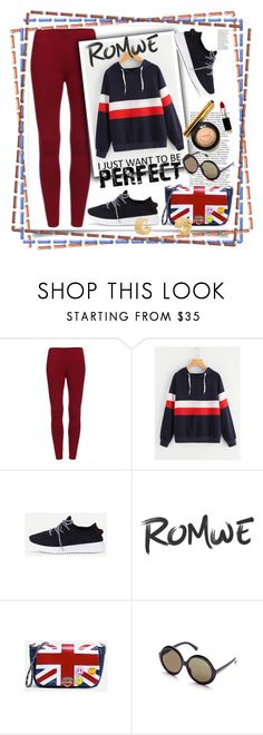 """""""romwe"""" by perfex ❤ liked on Polyvore featuring Black Swan"""