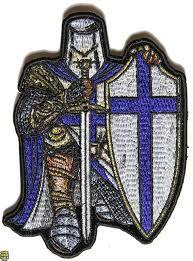 Image result for crusaders knights templar blue