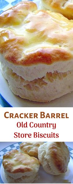 are so quick and easy. Even though you use Bisquick, they don't come out tasting like Bisquick or like baking powder. #crackerbarrel #biscuits #desserts