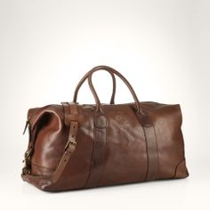 Men's Leather Bags | Ralph Lauren
