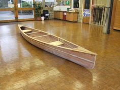 Cedar Strip Canoe Almost complete